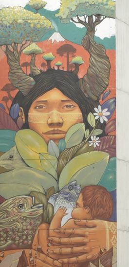 Alapinta, Pacha mama Street art, 2011 50 rue Jeanne d'Arc Paris 13e