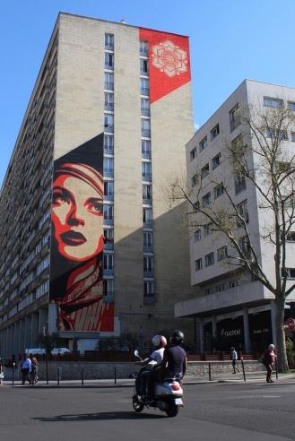 OBEY - 93 rue Jeanne d'Arc